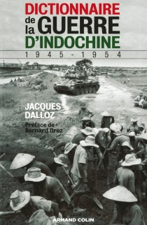 image of Dictionnaire de la Guerre d'Indochine