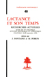 image of Lactance et son temps