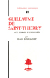 image of Guillaume de Saint-Thierry