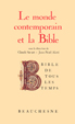 image of Le monde contemporain et la Bible