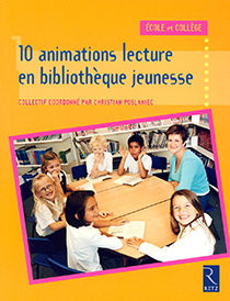 image of 10 animations lecture en bibliothèque jeunesse