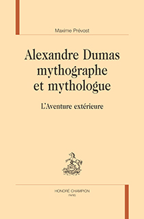 image of Alexandre Dumas mythographe et mythologue