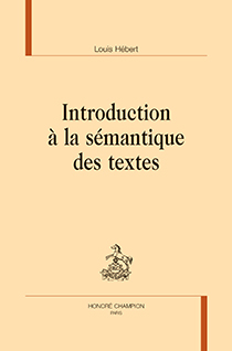 image of Introduction à la sémantique des textes