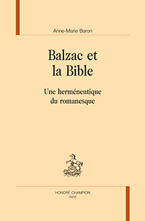 image of Balzac et la Bible
