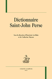 image of Dictionnaire Saint-John Perse