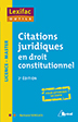 image of Citations juridiques en droit constitutionnel