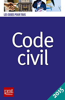 image of Code civil 2015