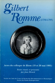 image of Gilbert Romme (1750-1795)
